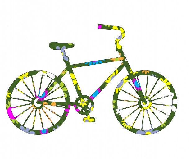 floral-bicycle-clipart